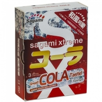 Презервативы Sagami Xtreme Cola 3 (аромат Кола)