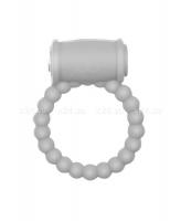 Эрекционное силиконовое кольцо с вибрацией Drums