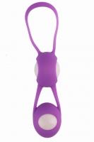 Вагинальные шарики в силиконовой оболочке Fun Spot фиолетовые