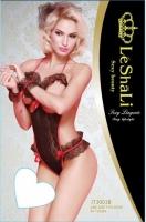 Кружевное боди с открытой грудью Le Shali SL