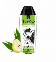 Лубрикант на водной основе с ароматом груши и зеленого чая TOKO (165 мл)