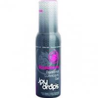 Смазка на водной основе с ароматом клубники Joy Drops (100 мл)