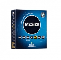 Презервативы латексные MY.SIZE ширина 60 мм (3 шт)