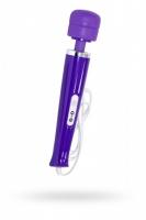 Фиолетовый вибромассажер на проводе Magic Wand Massager (10 режимов)