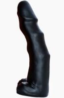Гигантский черный фаллос с рельефной поверхностью Tyrant