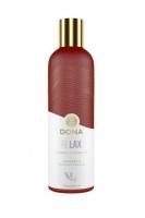 Массажное масло Dona RELAX с ароматом тиянской ванили и лаванды (120 мл)