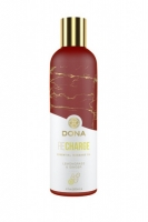 Массажное масло Dona Recharge с ароматом лемонграсса и имбиря (120 мл)