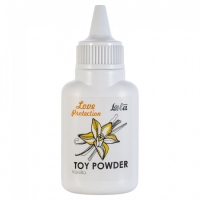 Ароматизированная пудра для игрушек Love Protection Ваниль (15 гр)