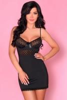 Элегантная чёрная сорочка Anisa SM