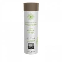 Съедобное масло для тела Body Oil LUXURY Кокос & Ананас (75 мл)