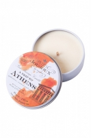 Массажная свеча Petits JouJoux Mini Athens с ароматом мускуса и пачули (43 мл)