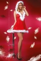 Новогоднее платье со шнуровкой и косточками Snowflake LXL