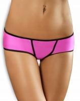 Яркие розовые трусики со шнуровкой на попке Essential Panty SM