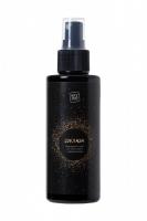 Золотистый мерцающий ароматизированный спрей для тела и волос с афродизиаками Соблазн (150 мл)