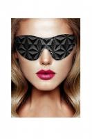 Маска на глаза закрытого типа серии OUCH! Luxury Eye Mask