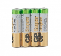 Батарейка алкалиновая GP Super AAA в блистере (4 шт)