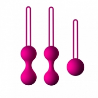 Набор вагинальных шариков для тренировки мышц (тренажер Кегеля) ДЖАГА