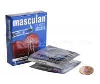 Презервативы Masculan тип 2 (C ПУПЫРЫШКАМИ) 3 шт.