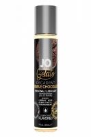 Вкусовой лубрикант Gelato Decadent Double Chocolate двойной шоколад (30 мл)