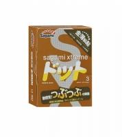 Презервативы усиливающие ощущения SAGAMI Xtreme Feel UP (3 шт)