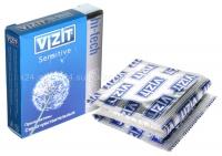 Презервативы VIZIT Hi-tech SENSITIVE сверхчувствительные, 3 шт.