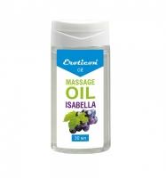 Массажное масло Isabella с ароматом винограда (30 мл)