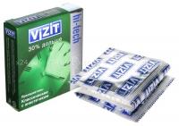 Презервативы VIZIT 30% дольше, с кольцами и анестетиком (3 шт)