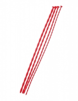 Набор гибких силиконовых уретральных зондов Black & Red