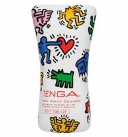 Мастурбатор Soft Tube Cup (мягкое обволакивание) TENGA & Keith Haring