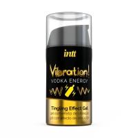 Жидкий вибратор с согревающим эффектом Vibration! Vodka (15 мл)