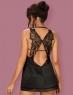 Сексуальная сорочка с оригинальной спинкой Obsessive ALIFINI CHEMISE SM