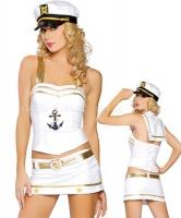 Костюм юной морячки