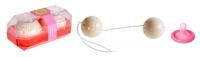 Вагинальные шарики Oriental Duotone Balls  слоновая кость