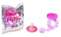 Виброкольцо Vibrating Ring фиолетовый