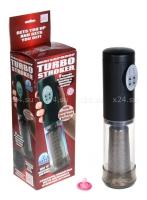 Мультискоростной мастурбатор TURBO STROKER BLACK