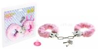 Наручники розовые FURRY FUN CUFFS