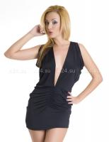 Платье стрейчевое открытое
