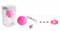 Виброяйцо розовое водонепроницаемое Funny Five