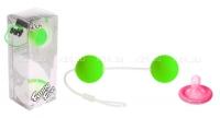 Шарики зеленые со смещенным центром тяжести Funny Five