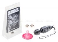 Вибратор-брелок со стразами Strasse Mini Vibe