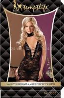 Мини-платье кружевное
