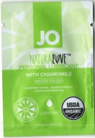 Органический водный лубрикант с экстрактом ромашки System JO - Sachet Naturalove Organic 3 мл