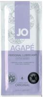 Персональный лубрикант на водной основе для женщин System JO - Sachet AGAPE LUBRICANT ORIGINAL 10 мл