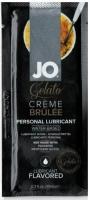 Вкусовой лубрикант на водной основе Sachet JO Gelato Creme Brulee (Крем Брюле) 10 мл