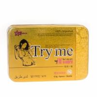 Try me (осуждайте меня) возбуждающее средство для женщин 1 упак. 6 табл.