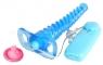Спиралевидный анальный стимулятор с вибрацией Spiral