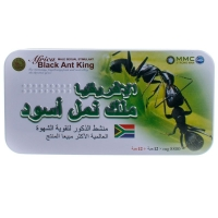 Africa Black Ant King (африканский царь чёрных муравьёв) препарат для увеличения потенции (12 капс по 8800 мг)