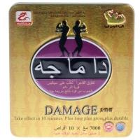 Damage (женьшень, панты) капсулы, восстанавливающие потенцию (10 капс. по 7000 мг)