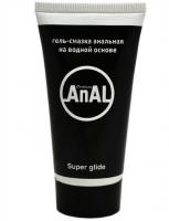 Гель-смазка анальная на водной основе Eroticon AnAL Super Glide, 50 мл