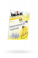 Презервативы Luxe КОНВЕРТ, Заключенный из Алабамы, банан, 18 см., 3 шт.
